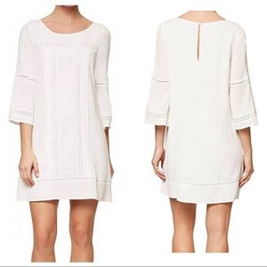 { SANCTUARY } clemence crochet trim shift dress